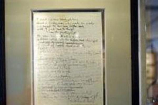 ჯონ ლენონის ავტოგრაფი 1,202 მილიონ დოლარად გაიყიდა [video]