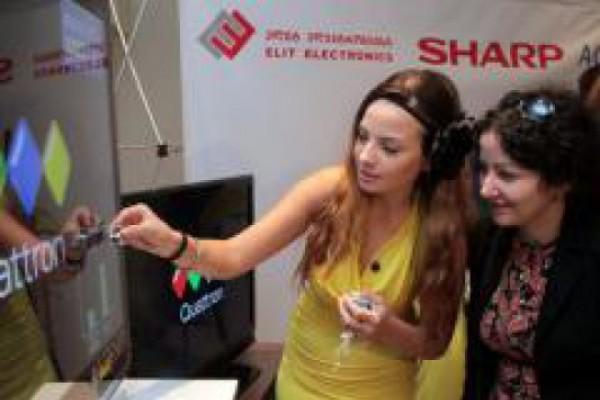 """""""ელიტ ელექტრონიქსის"""" მაღაზიებში SHARP-ის უნიკალური ტელევიზორები გაიყიდება"""