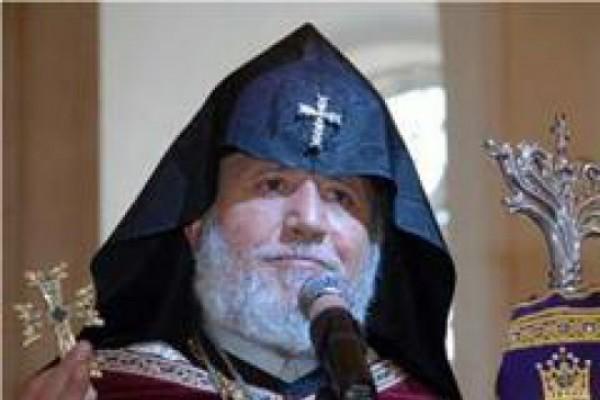 რა მიზნით ჩამოვიდა სომეხთა კათალიკოსი საქართველოში