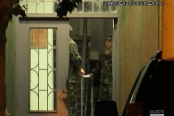 ქართული ოცნების წევრების დაკავება ხონში(VIDEO)