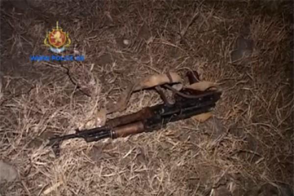შსს-მ იარაღის უკანონო შეძენა–შენახვისა და ტარებისთვის ერთი პირი დააკავა