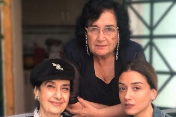 ნინი ბადურაშვილი ბებიებთან ერთად ...