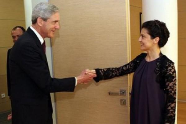 თეა წულუკიანი FBI-ს დირექტორს შეხვდა