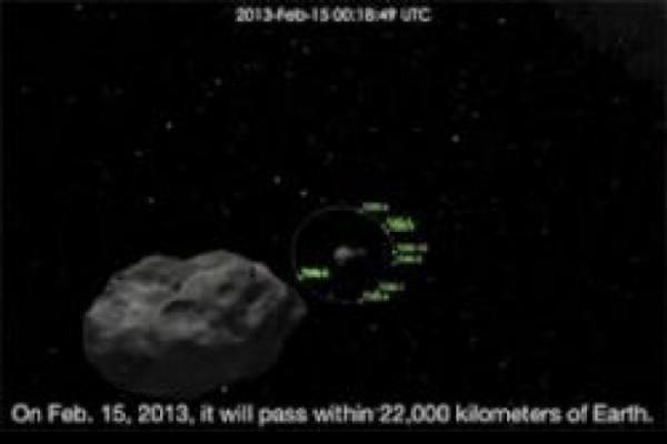 დედამიწას 130 ათასი ტონა 50 მეტრის დიამეტრის მოცულობის ასტეროიდი უახლოვდება