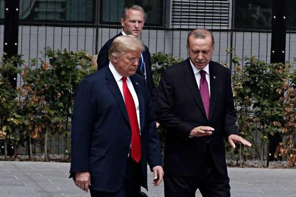 ერდოღანმა ტრამპი თურქეთში მიიწვია