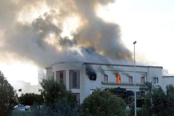 ტრიპოლიში საგარეო საქმეთა სამინისტროსთან აფეთქებაზე პასუხისმგებლობა ISIS-მა აიღო