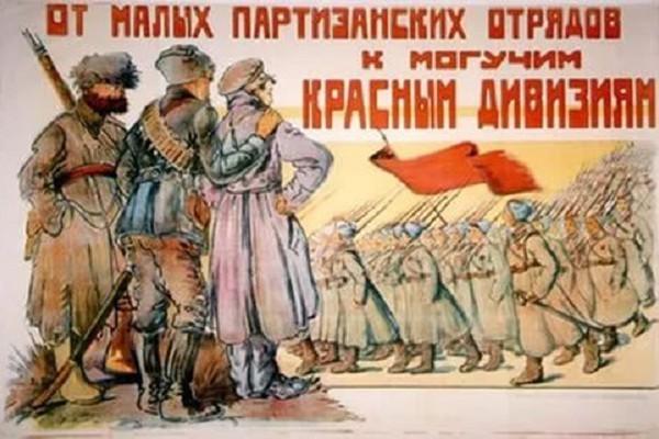 წითელი არმია ქართულ ხალხურ პოეზიაში