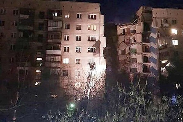 რუსეთში მაგნიტოგორსკში მომხდარი აფეთქების გამო საგანგებო მდგომარეობაა გამოცხადებული