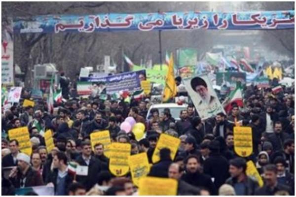 თეირანში ისლამური რევოლუციის მე-40 წლისთავი აღნიშნეს