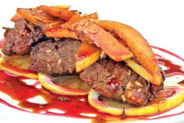 ხბოს ხორცი კომშით