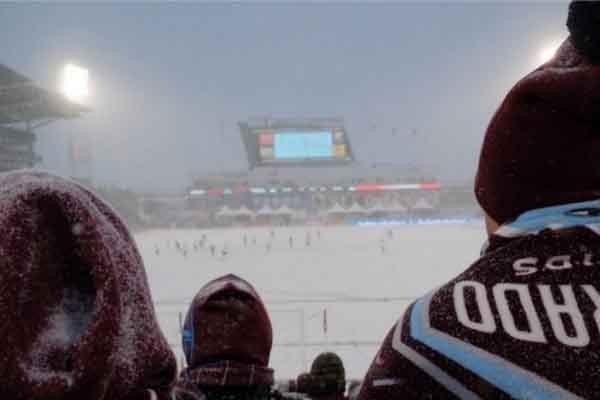 -18 გრადუსი: ყველაზე ცივი მატჩი MLS-ის ისტორიაში