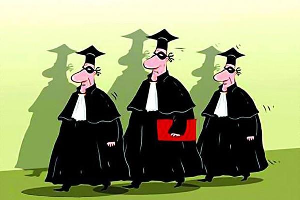 """""""ეს მოსამართლეები გადაიქცნენ კარგად ორგანიზებულ ძალიან საშიშ ბანდიტურ წარმონაქმნად"""""""