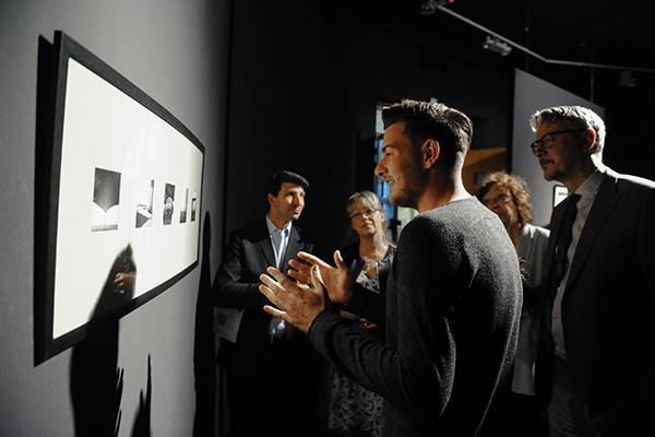 """თიბისი არტ გალერეაში, ჯორჯ კატსტალერის გამოფენა - """"საქართველოზე ფიქრით"""