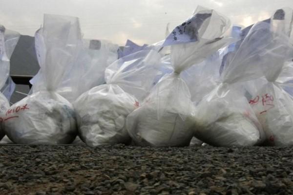 შავმა ზღვამ 130 კგ-ზე მეტი კოკაინი გამორიყა