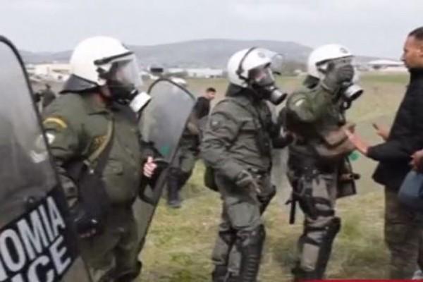 საბერძნეთში მიგრანტების ნაკადის შეჩერებას შეტაკებები მოჰყვა
