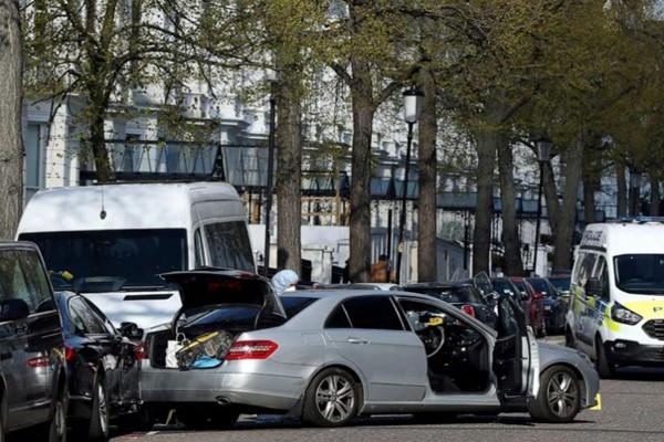 ლონდონში უკრაინის ელჩის მანქანას 40 წლის მამაკაცი ავტომობილით დაეჯახა