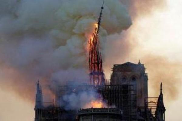 პარიზის ღვთისმშობლის ტაძარი მთლიანად დაიწვება - ტაძრის წარმომადგენლები