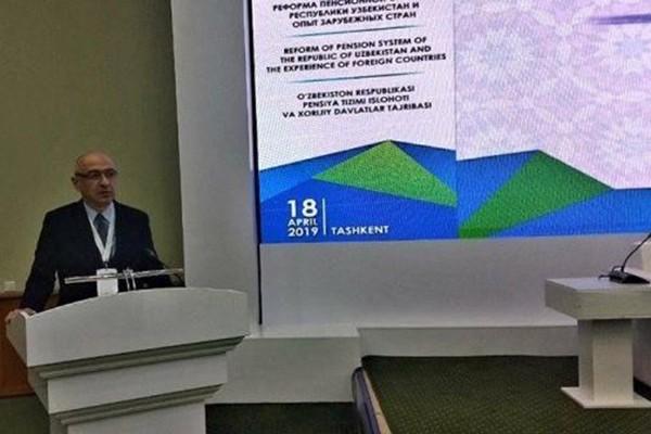 ვაჟა ჯაფოშვილი ტაშკენტში საერთაშორისო კონფერენციას ესწრება