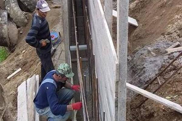ფერდსამაგრი კედლების მოწყობა მუნიციპალიტეტის სოფლებში