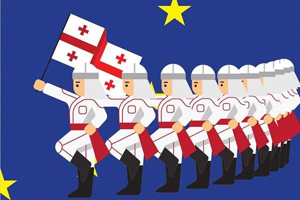 """""""ევროკავშირი ჯერჯერობით ზეწოლის ყველა ზომას იყენებს საქართველოს ხელისუფლებაზე, რომ ეს მშიერი პუბლიკა ევროპაში არ წავიდეს"""""""