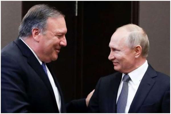 პუტინი პომპეოს: ვგრძნობ რომ ტრამპს რუსეთთან ურთიერთობის გაუმჯობესება სურს