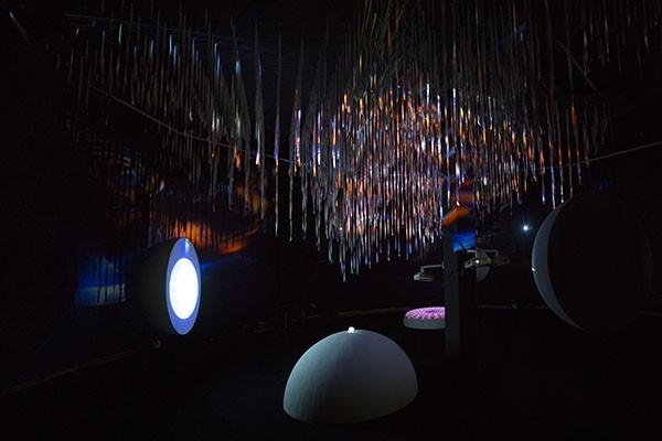 """თიბისი არტ გალერეში მულტიმედია ხელოვნების პროექტის - """"GAMMA"""