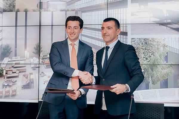 საქართველოს ბანკის ფინანსური მხარდაჭერით თბილისში Hilton-ი აშენდება