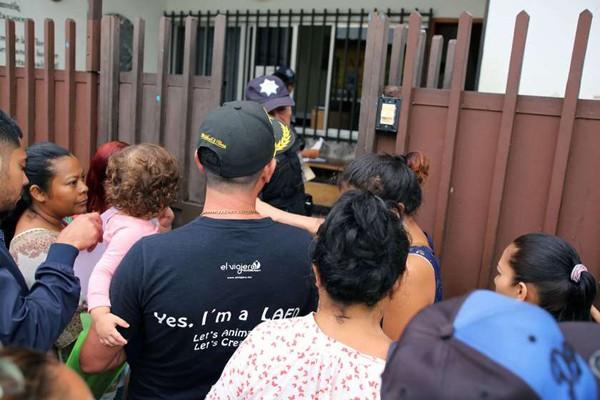 მექსიკაში 800-მდე არალეგალი მიგრანტი დააკავეს