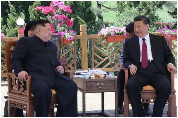 ჩინეთის ლიდერი ჩრდილოეთ კორეაში ჩავიდა