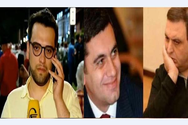 """სენსაციური განაცხადი! – ტელეკომპანია """"იმედის"""" ჟურნალისტი ირაკლი ოქრუაშვილსა და გუბაზ სანიკიძეს პირდაპირ ადებს ხელს... (ვიდეო)"""