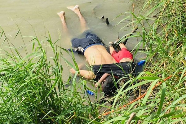 აშშ-მექსიკის საღვარზე მამა-შვილი დაიხრჩო