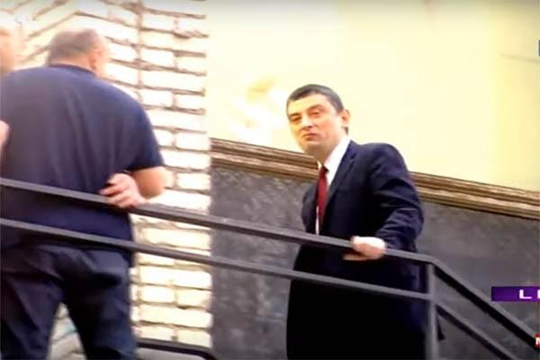 გიორგი გახარია გადაცემა რეაქციის სტუდიაში მივიდა (ვიდეო)