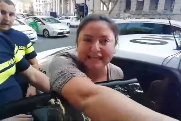 მომღერალი თიკა ჯამბურია დააკავეს (ვიდეო)