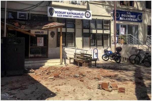 თურქეთში მიწისძვრის შედეგად 20-ზე მეტი ადამიანი დაშავდა