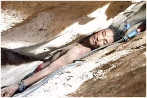 კამბოჯაში გამოქვაბულებს შორის გაჭედილი კაცი 4 დღის შემდეგ იპოვეს