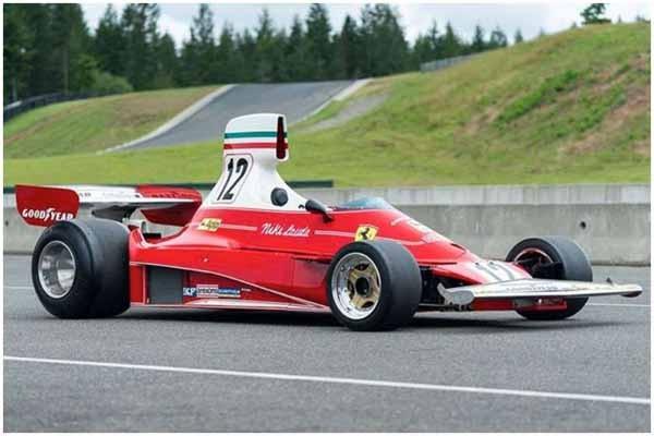 აშშ-ში ნიკი ლაუდას Ferrari-ის აუქციონზე გაიტანენ