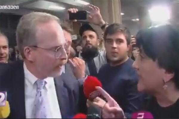 ირმა ინაშვილი დიპლომატებს დაუპირისპირდა (ვიდეო)