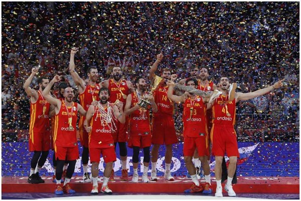 კალათბურთში მსოფლიო ჩემპიონატი ესპანეთმა მოიგო