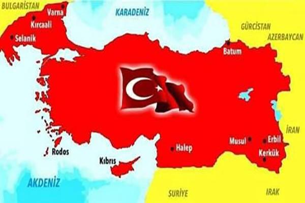 ყალბი რუკა, სადაც საქართველოს ტერიტორიები თურქეთის საზღვრებშია მოქცეული - საელჩოს განმარტება