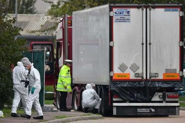 ესექსში სატვირთო მანქანაში აღმოჩენილი 39-ვე გარდაცვლილი ვიეტნამელია
