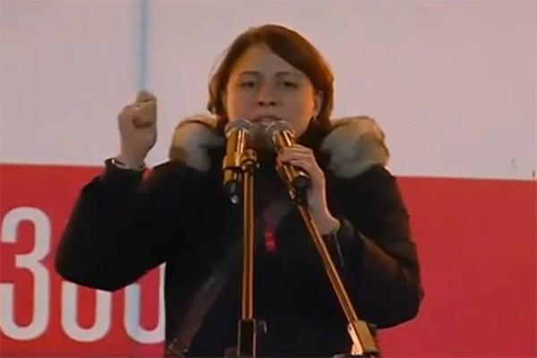 ელენე ხოშტარია: აჩიკო თალაკვაძე, პირობას გაძლევ, ჩემი ხელით დაგაჭერინებ მაგ ბოქლომს (ვიდეო)