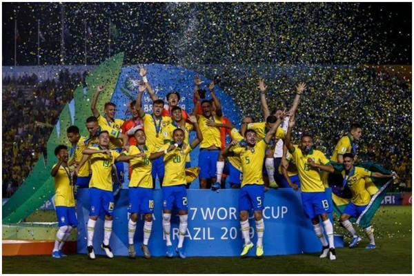 მსოფლიოს 17-წლამდე ფეხბურთელთა ჩემპიონატში ბრაზილიამ გაიმარჯვა