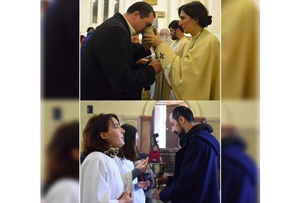 გიგა ბოკერია და გიგა მაქარაშილი ბაბტისტური ეკლესიის მრევლი არიან