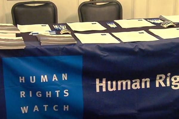 """უმრავლესობა """"Human Rights Watch""""–ს წყაროების გადამოწმებას ურჩევს"""