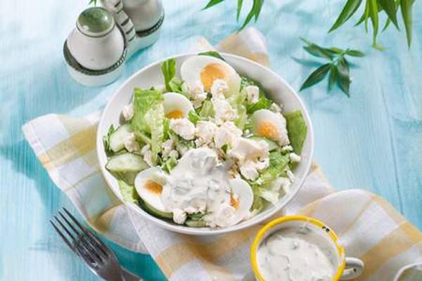 ძალიან გემრიელი და უმარტივესი სალათა ქორფა კიტრისა და კვერცხისგან