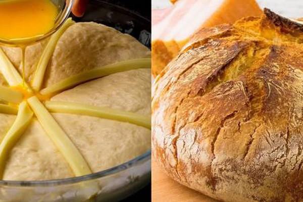 4 ინგრედიენტისგან მომზადებული ხრაშუნა პური, რომელიც თქვენი სუფრის მთავარი დეტალი გახდება