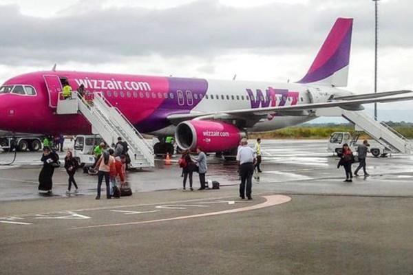 """""""Wizz Air""""-მა იტალიის მიმართულებით ყველა რეისი გააუქმა"""