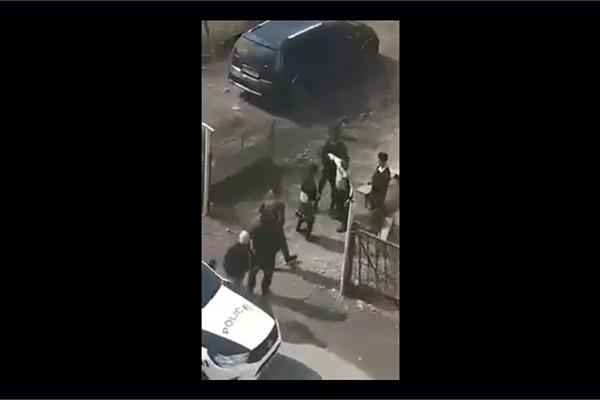 კარანტინის დარღვევის გამო მოსახლეობასა და პოლიციას შორის კონფლიქტი მოხდა (ვიდეო)