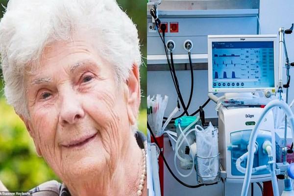 """""""არ მინდა სასუნთქი აპარატი, ახალგაზრდებისთვის შეინახეთ!"""" – 90 წლის ქალი ამ გადაწყვეტილების შემდეგ დაიღუპა"""