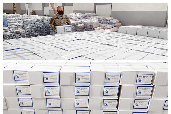 დმანისი-წალკის მაჟორიტარი კახა ოქრიაშვილი 16 000 ოჯახს ნახევარი მილიონი ლარის პროდუქტით დაეხმარება